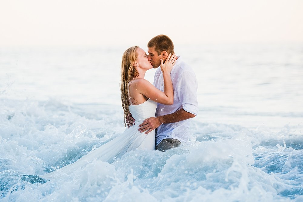Tara & Justin | One Thousand Steps Beach Session